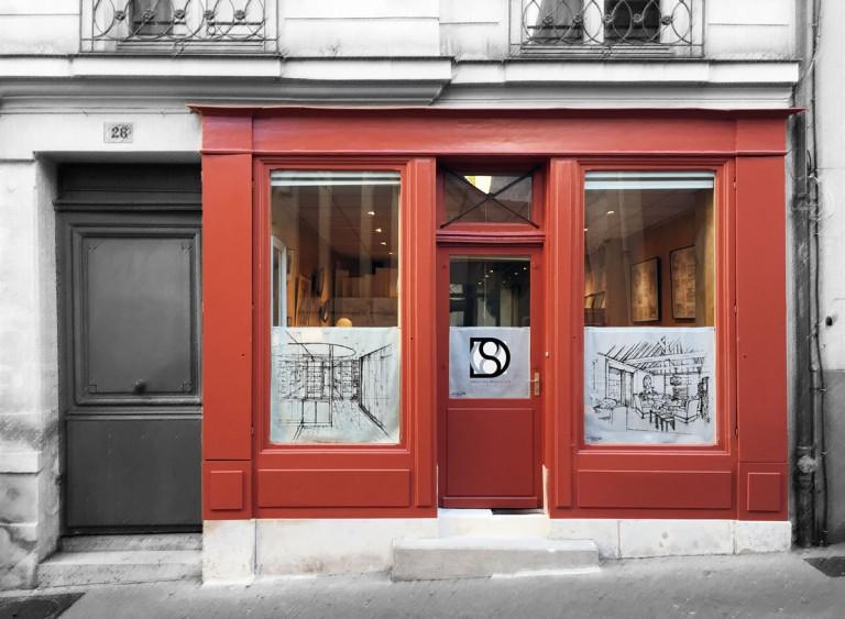 Atelier Sébastien Desroches - Architecte / rue Peintre Lebrun / Versailles