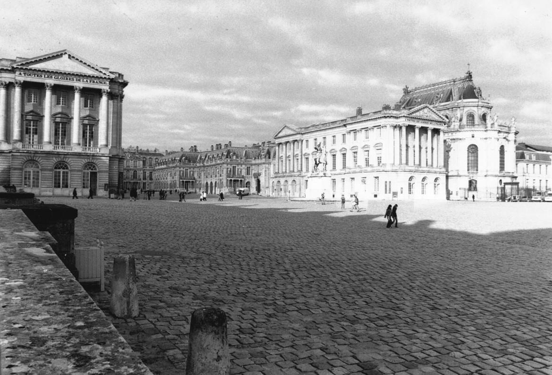 Château de Versailles - Corps Central - 2005 - © Sébastien Desroches - Architecte
